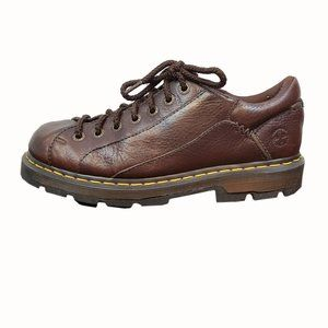Dr. Martens Brown Leather Lace-Up Loafers Size 10